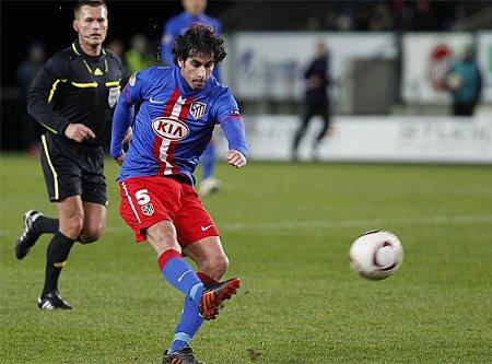 Un golazo de Tiago dio la victoria al Atlético sobre el Rosenborg