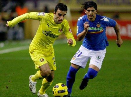Villarreal y Valencia firmaron tablas en el derby levantino