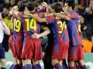 Liga de Campeones 2010/11: el Barça vence al Rubin Kazan, el Valencia sólo puede empatar en Manchester