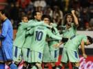 El F.C. Barcelona gana por 0-3 a Osasuna con un doblete de Leo Messi