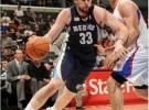 NBA: Marc Gasol aguanta el duelo a Blake Griffin, y los Grizzlies ganan de 1