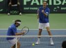 Final Copa Davis: Francia se lleva el heroíco partido de dobles y domina a Serbia por 1-2