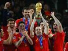 Casillas, Xavi, Iniesta, Busquets y Piqué forman parte del Once Ideal del diario L'Equipe