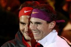 Rafa Nadal y Roger Federer jugaron un partido solidario en Zurich antes de llegar a Madrid, donde jugarán el miércoles