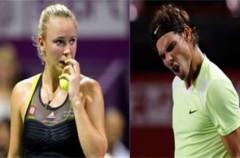 La Federación Internacional de Tenis distingue a Rafa Nadal y Caroline Wozniacki  como 'Campeones del Mundo 2010'