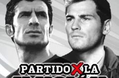 Iker Casillas y Luís Figo presentan el 'Partido por la Ilusión' que se disputará esta Navidad en Madrid