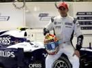 Pastor Maldonado será piloto titular de Williams en 2011