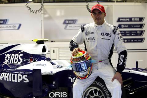 Pastor Maldonado pilotra en Williams en 2011