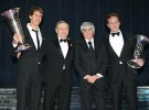 Gala FIA 2010: Vettel, Alonso, Webber, Loeb, Xevi Pons o Antonio Albacete recogieron sus premios