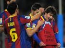 Liga Española 2010/11 1ª División: Barcelona y Sevilla golean a Racing de Santander y Levante