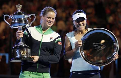 Clijsters gano a Na Li la final del Open de Australia 2011