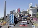 Dakar 2011 Etapa Prologo: el Obelisco de Buenos Aires fue el escenario de la salida del prólogo de la prueba