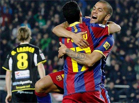 Liga Española 2010/11 1ª División: el Barça sigue en cabeza tras vencer a un correoso Levante