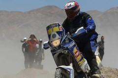 Dakar 2011 Etapa 9: Jonah Street gana la especial en motos y Cyril Despres recorta un minuto a Marc Coma