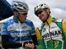 Lance Armstrong y Floyd Landis, ex compañeros, enemigos y ex ciclistas