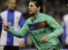 Liga Española 1ª División: Pedro y Messi dan el triunfo al Barcelona, Sporting, Zaragoza, Levante y Real Sociedad también ganan