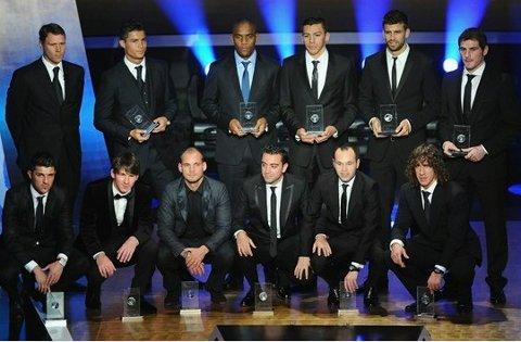 Once Ideal de la FIFA en 2010