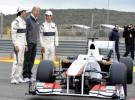 Lotus, Sauber y Renault presentan sus monoplazas para 2011 en el Circuito de Cheste