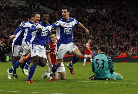 El Birmingham City derrota al Arsenal y es el nuevo campeón de la Carling Cup inglesa