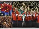 La selección española de fútbol y Adidas extienden su relación contractual hasta 2018