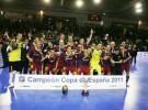 Copa de España de Fútbol-Sala: el F.C. Barcelona se impone a ElPozo Murcia y se hace con el título