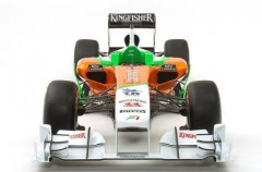La escudería Force India presentó su nuevo VJM04