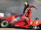 Pretemporada Fórmula 1: Kubica y Sutil bajan el telón de los test de Valencia siendo los más rápidos