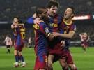 Liga Española 2010/11 1ª División: el F.C. Barcelona sufre para imponerse por 2-1 al Athletic de Bilbao