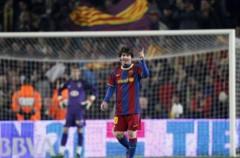 Liga Española 1ª División: el F.C. Barcelona gana por 3-0 al Atlético de Madrid con hat trick de Messi