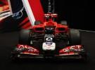 La escudería Marussia Virgin Racing presentó su nuevo MVR-02