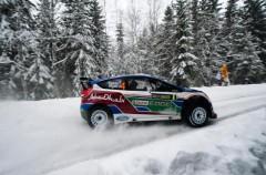 Rally de Suecia: Henning Solberg  fue el más rápido en el shakedown