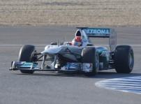 Michael Schumacher fue el mejor en el segundo día de pruebas en Jerez