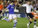 Liga de Campeones 2010/11: Valencia y Schalke 04 empatan a 1 gol