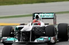 Pretemporada Fórmula 1: Michael Schumacher puede con Alonso y Vettel en la jornada de test del viernes