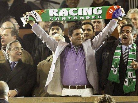Ali Syed, dueño del Racing de Santander
