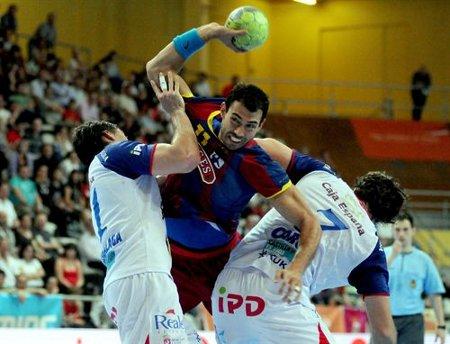 El Barcelona Borges estará en las semifinales de la Copa del Rey de balonmano 2011