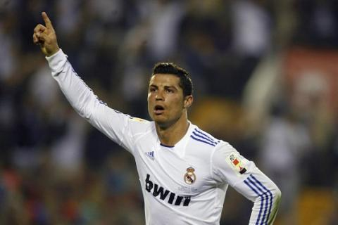 Cristiano Ronaldo marco en la Copa del Rey