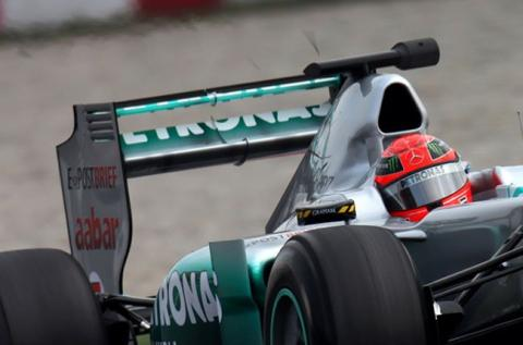 DRS Mercedes GP