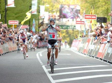 Gilbert ha ganado por segunda vez consecutiva la Amstel Gold Race