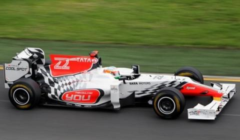 HRT en el GP de Australia