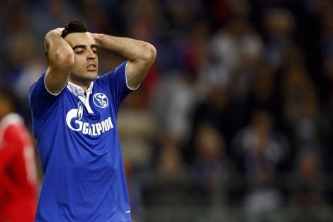 Jurado impotente en el Schalke