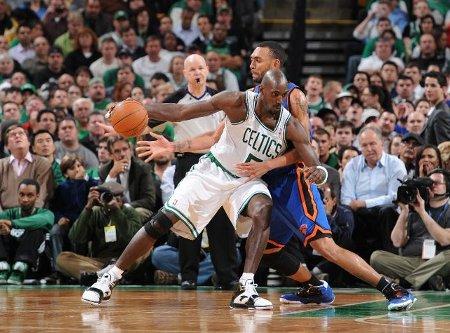 Kevin Garnett en un Celtics - Knicks