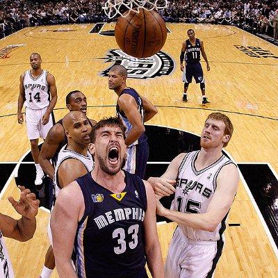 Marc Gasol y los Grizzlies ganaron a los Spurs