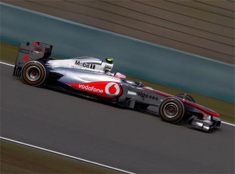 McLaren pudo superar a Red Bull en China