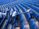 El Santiago Bernabéu acogió un experimento para generar energía eléctrica a través del público