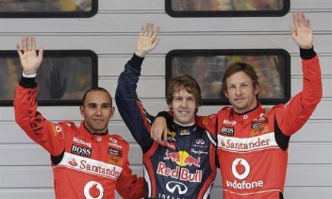 Pole GP de China 2011