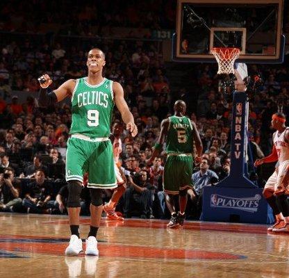 Rajon Rondo consiguió otro triple doble con los Boston Celtics