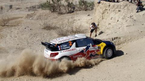 Sebastien Ogier gana el Rally de Jordania