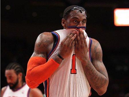 Amare Stoudemire lamente la eliminación de los Knicks en los playoffs de la nBA