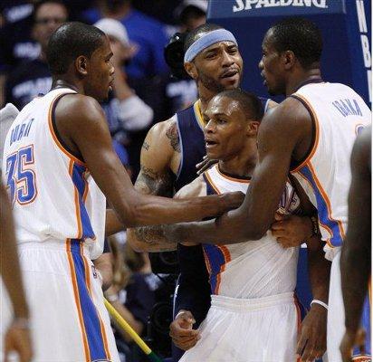 Oklahoma City Thunder en semifinales de la Conferencia Oeste